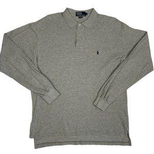 Polo Ralph Lauren Golf Shirt Long Sleeve Solid